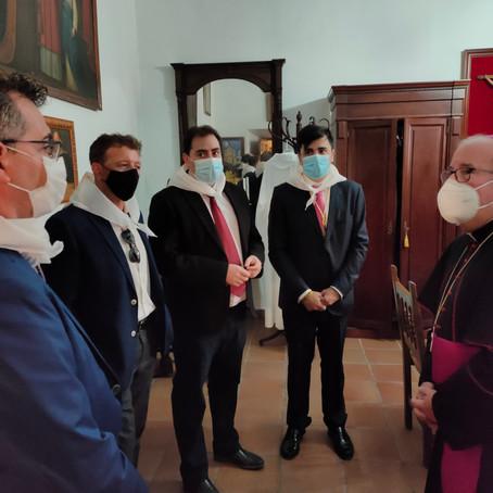 El Obispo de Cuenca bendice la Ruta Gregoriana.