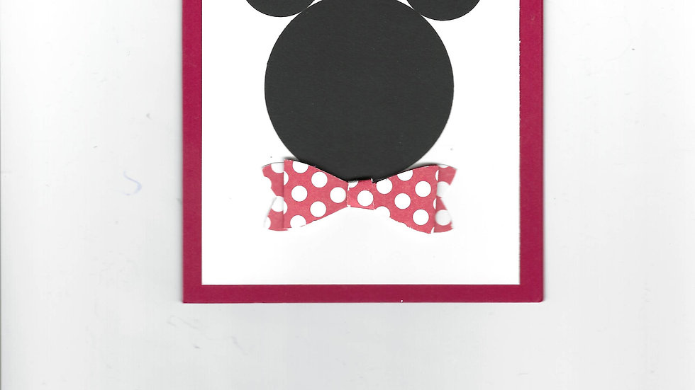 # 700  Mickey Mouse Card