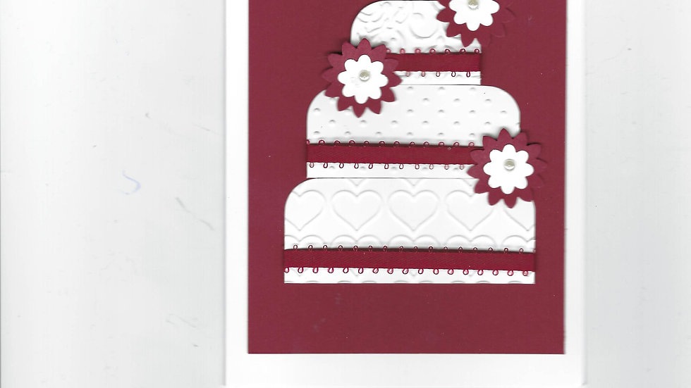 # 801      3 Tiered Cake Card