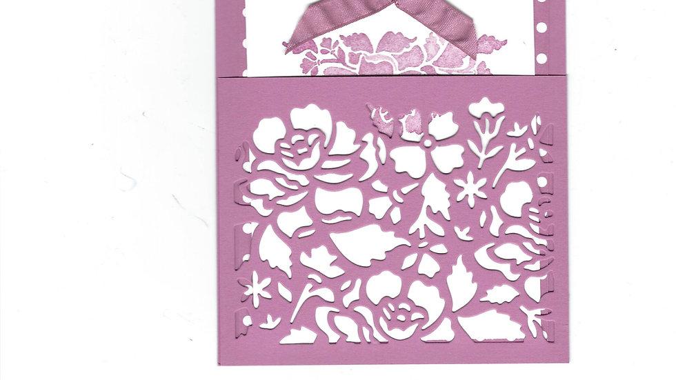 # 1100    Lattice Pullout Card