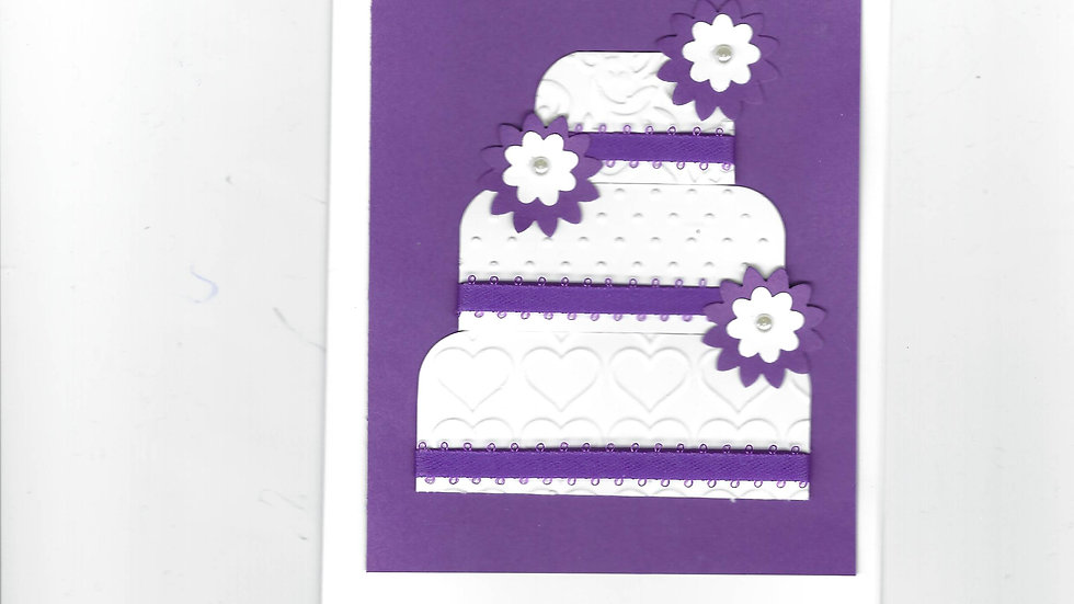 # 800      3 Tiered Cake Card