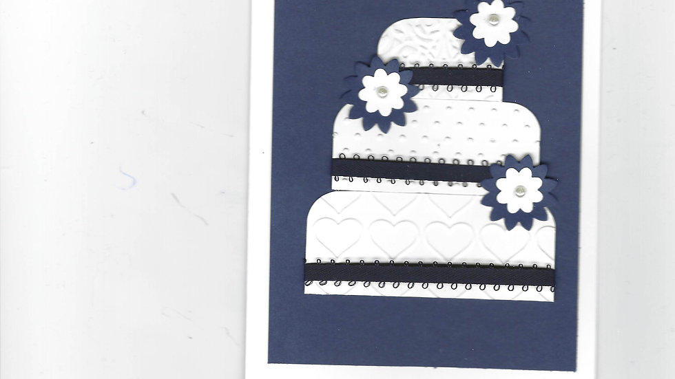 # 803     3 Tiered Cake Card