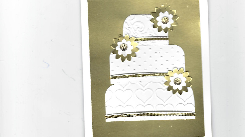 # 804  3 Tiered Cake Card