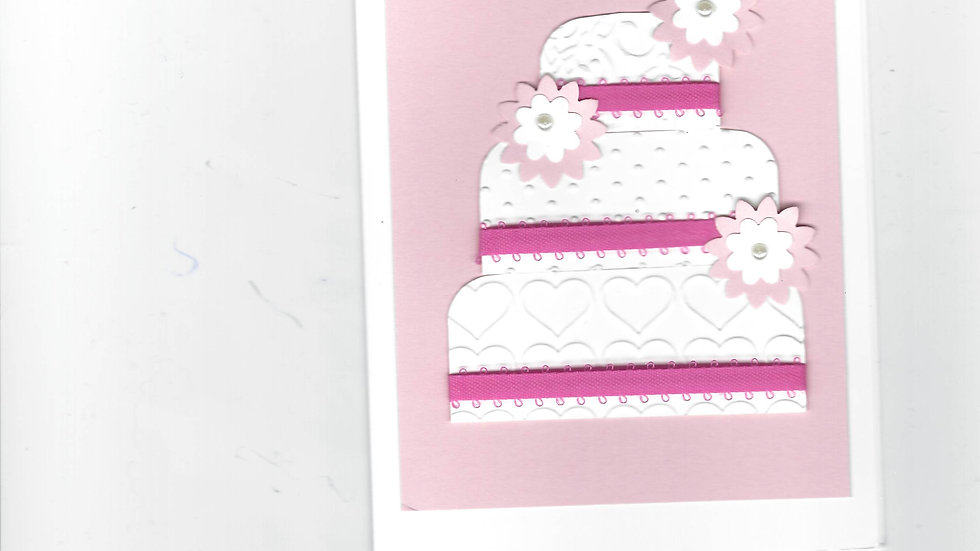 # 802      3 Tiered Cake Card