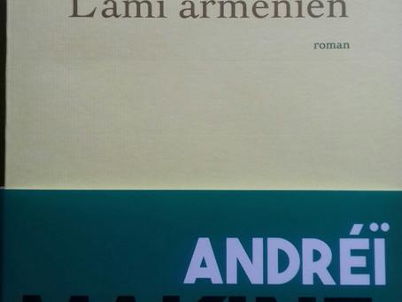 """""""L'ami arménien"""" Andreï Makine chez Grasset"""