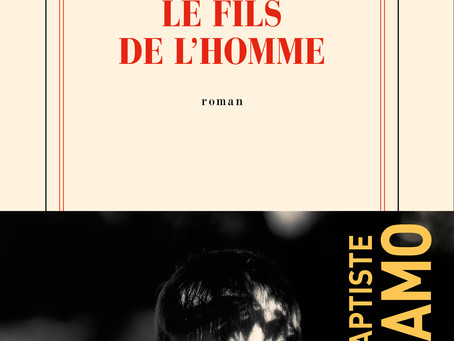 """""""Le fils de l'homme"""" Jean-Baptiste Del Amo chez Gallimard"""