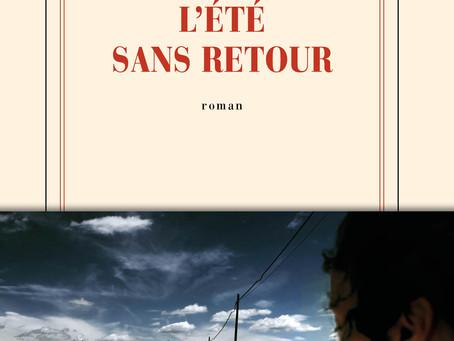 """""""L'été sans retour"""" Giuseppe Santoliquido chez Gallimard"""
