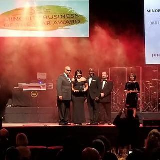 B&B accepting KAUL Minority Business of the Year