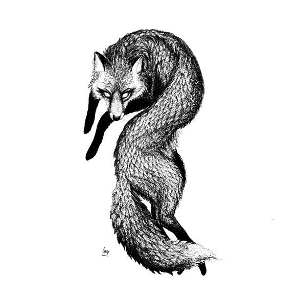 Curvy Fox