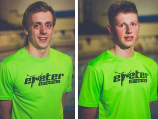 Olympic trials beckon for two Exeter Swimmers