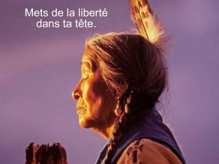 « Mets de la liberté dans ta tête »