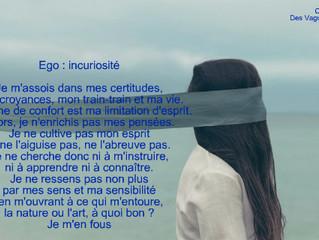 Comment se manifeste l'ego ? 23. Incuriosité