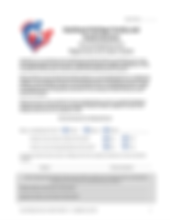 Registration and Intake Packet Screensho