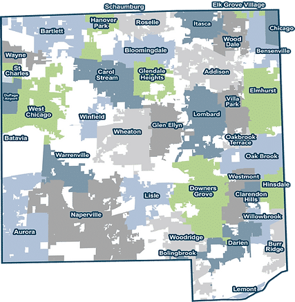 DuPage County Map.png