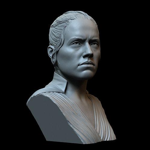 Rey Skywalker (Daisy Ridley) from Star Wars