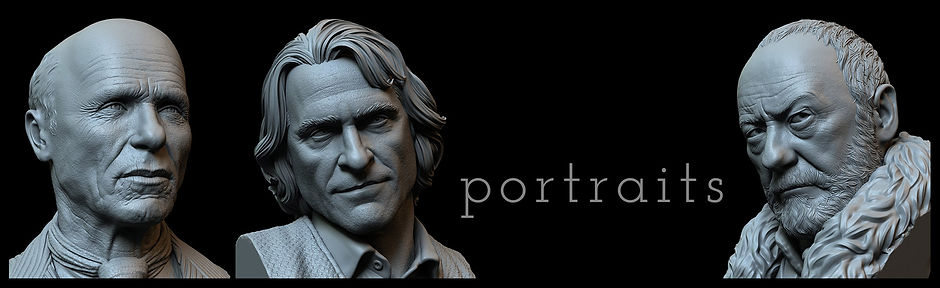 3d pritable portraits/busts