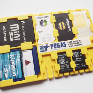 Холдер для карт памяти и SIM карт