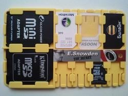 microSD SD SIM card holder