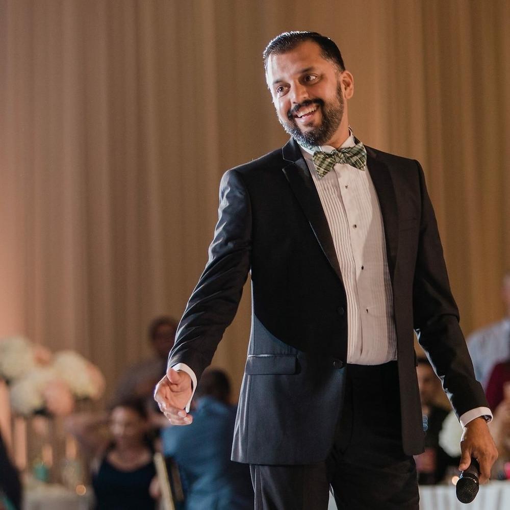 Gujarati MC for Indian weddings in America.