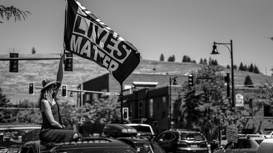 Black Lives Matter Rally: Missoula, Montana