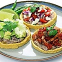 Sopes- Pollo/Steak/Chorizo