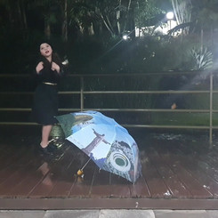 Sapateando na chuva