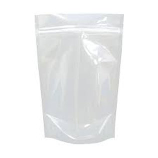 Stand up bags/ pouch Zip Lock bags -  Clear