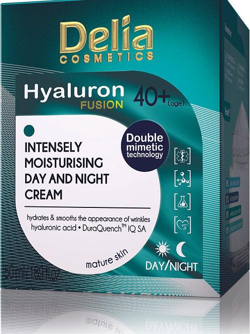 HYALURON FUSION - 40+ Intensely Moisturising Day & Night Cream - 50 ml