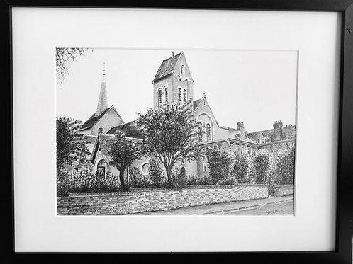 High Quality Print:St Thomas of Canterbury Roman Catholic Church, Sevenoaks Kent