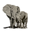 Thumbnail: Original artwork Elephants: A mother's love (1 of 1)