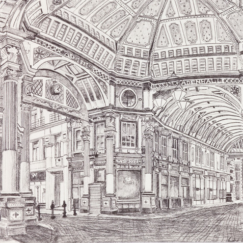 Leadenhall Market, City of London