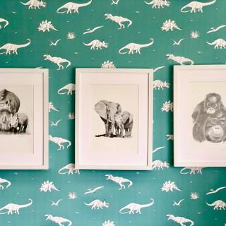 Rhinos, elephants and orangutans