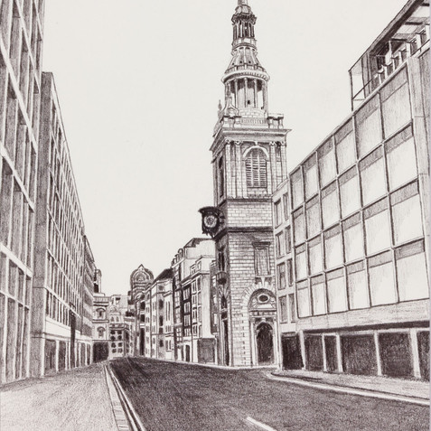 St Mary le Bow, Cheapside