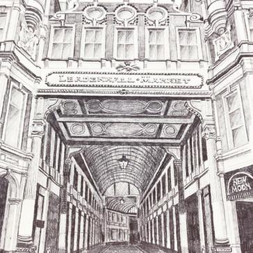 Entrance to Leadenhall Market, City of London