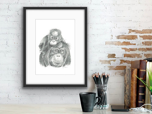 'On Top of the World' fine art print