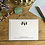 Thumbnail: Chimps luxury personalised notecards