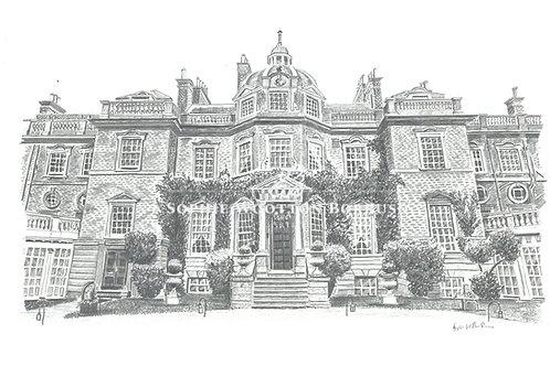 High Quality Print: Hampton Court House