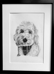 This portrait of beautiful Amber was a gift from husband to wife