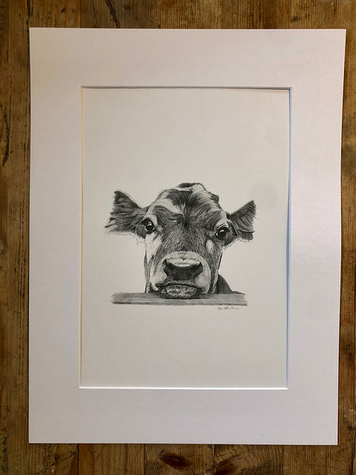 'Here's Looking at You' Fine art print