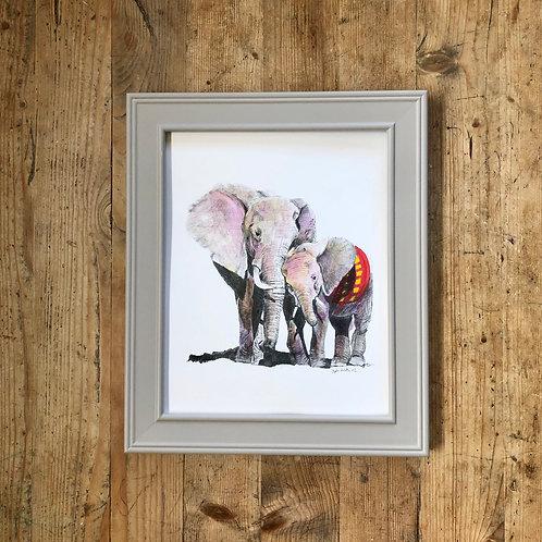 Elephants' connection