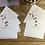 Thumbnail: Wild deer of Knole Park luxury personalised notecards