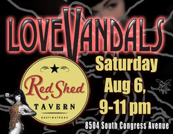 LoveVandals at Red Shed