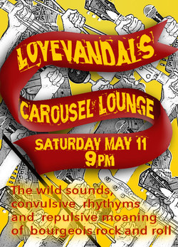 LoveVandals at the Carousel Lounge