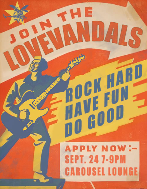 Join the LoveVandals