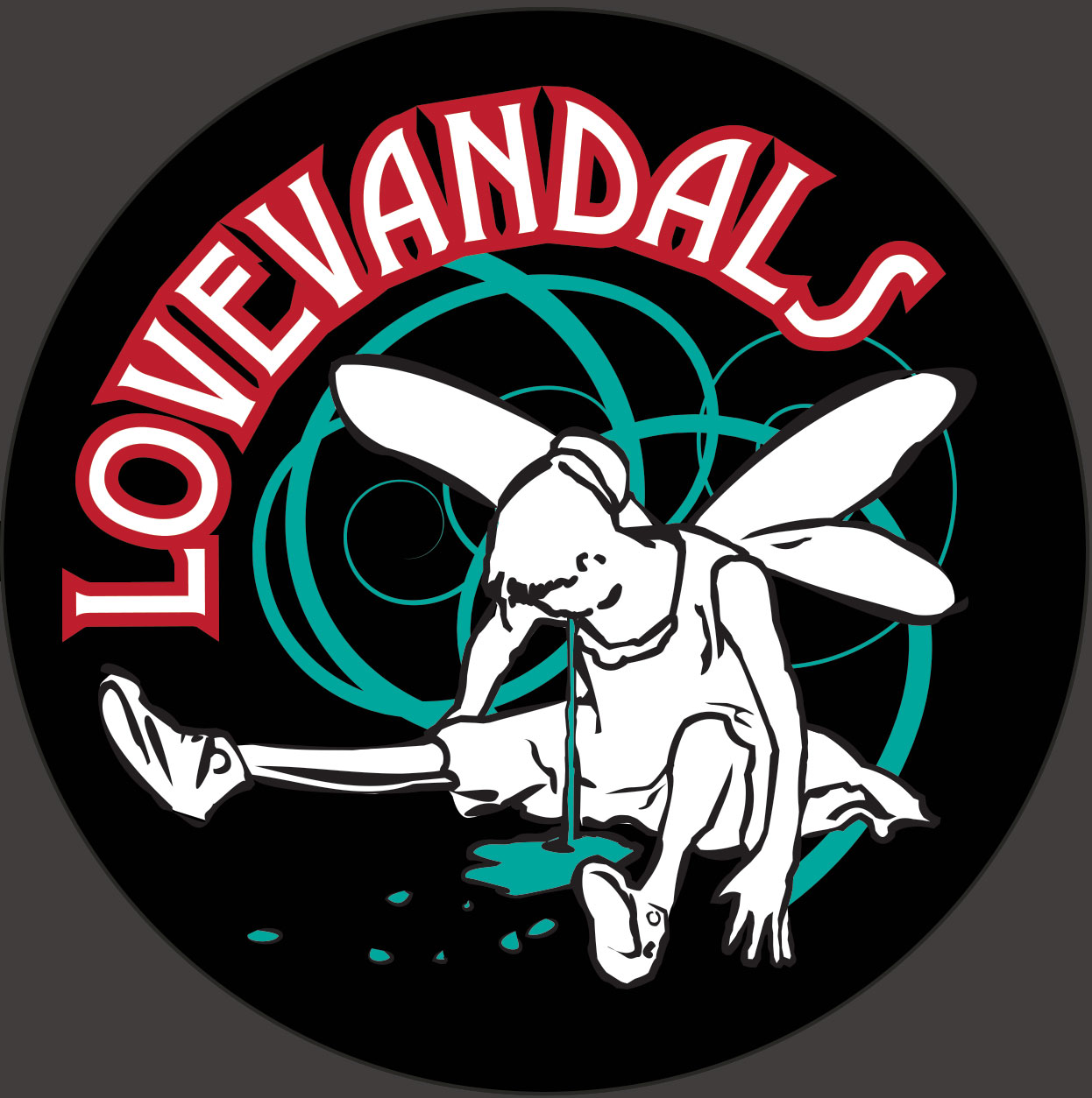 LoveVandals Logo and Sticker