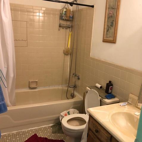 Bathroom before - Hempstead, NY
