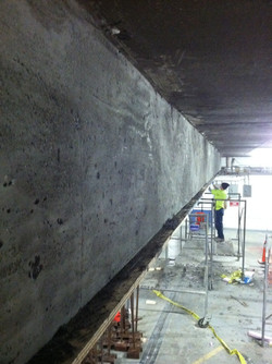 Ceiling Beam Repair