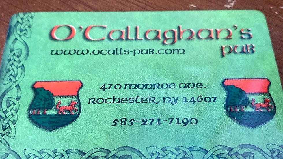 O'Callaghan's Pub $15 Gift Card