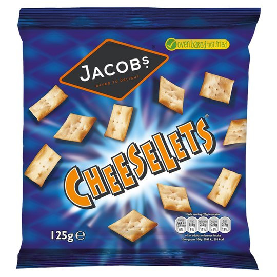 Cheeslets Cheese Flavour Snack Biscuits