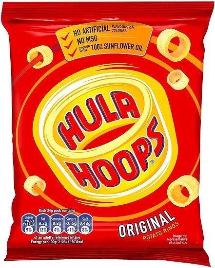 Hula Hoops Original Potatoe Snack